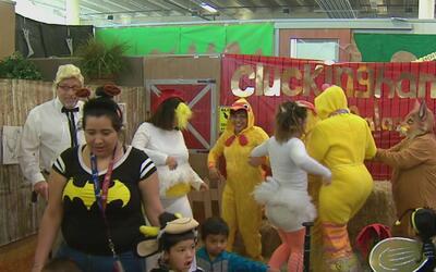Heaven For Hope celebró con cerca 75 niños Halloween en sus instalaciones