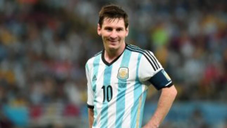 El delantero argentino señaló que su intención no es competir con el bra...