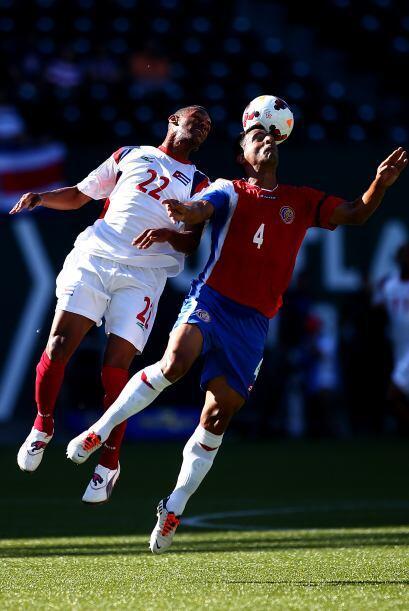 Pero Costa Rica mostró su mejor nivel en la segunda mitad.