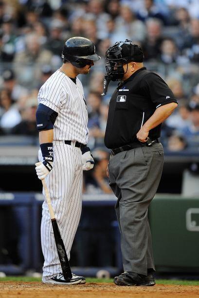 Los Yankees no anduvieron finos con el bat y reclamaban las decisiones d...