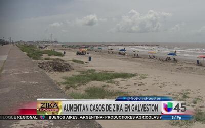 Tres nuevos casos de Zika en Galveston
