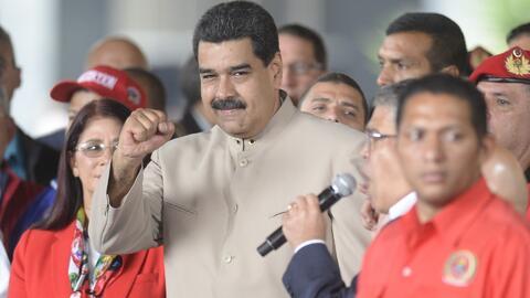 Presidente de Venezuela, Nicolás Maduro, es salpicado con el escándalo d...