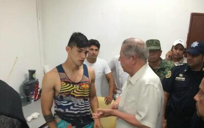 El futbolista mexicano Alan Pulido fue liberado tras una operación policial