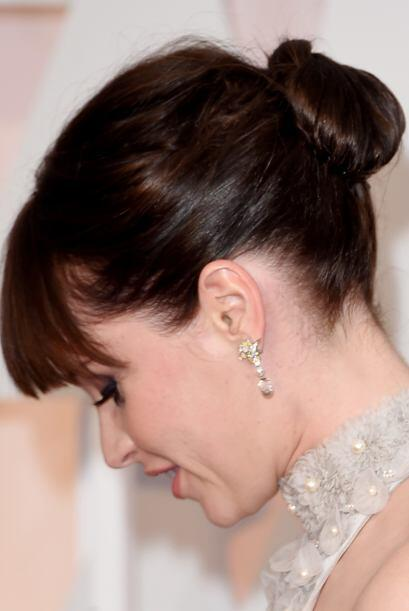 "La protagonista de la cinta ""The Theory of Everything"", Felicity Jones l..."
