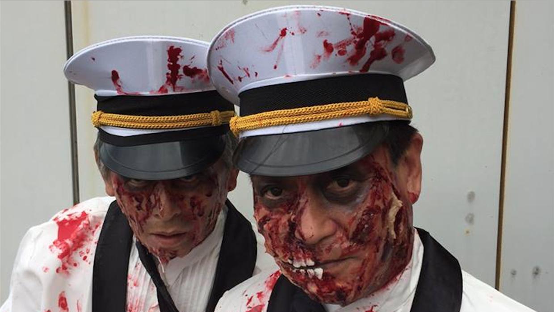 Los choferes zombi de Luck Taxi en Fukuoka, Japón