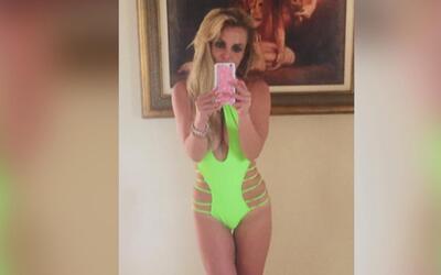 Oops; Britney Spears lo hizo otra vez y mostró tremendo cuerpazo