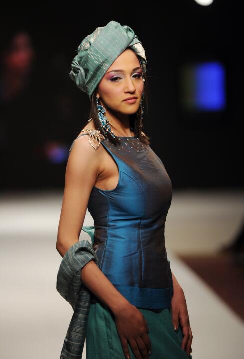 Turbantes, moda a la cabeza súper 'chic'