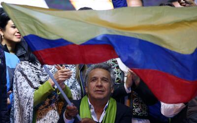 Moreno logró un 51.14 % de los votos válidos, frente al 48.86 % del exba...