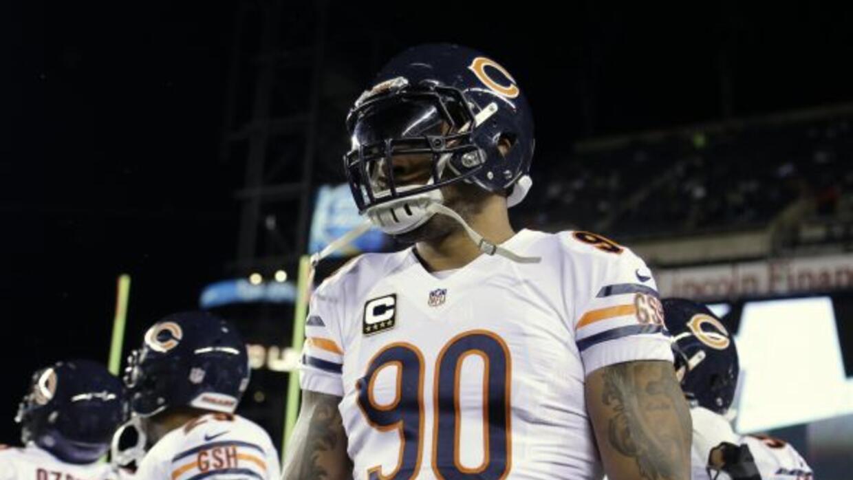 Los Bears no se quedará con el ala defensivo (AP-NFL).