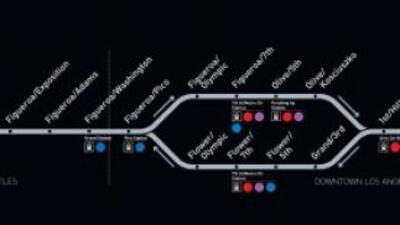 Metro abrira nueva linea que conectara al Valle de San Gabriel con la Ba...