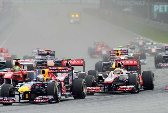 El Red Bull demostró que es el mejor auto de la Fórmula 1 2011.