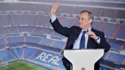 El presidente de los madridistas se mostró orgulloso por los números que...