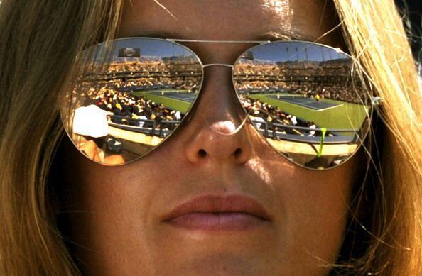 La novia de Andy Murray, Kim Sears, estuvo en las gradas apoyando al bri...