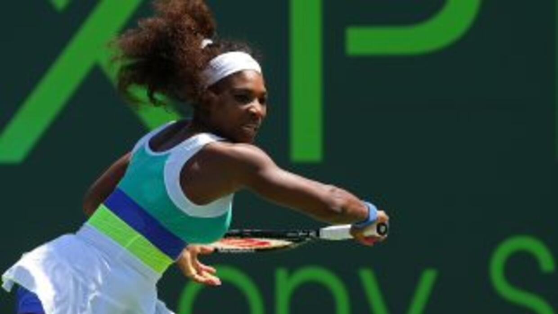 Serena es la primera semifinalista del torneo.