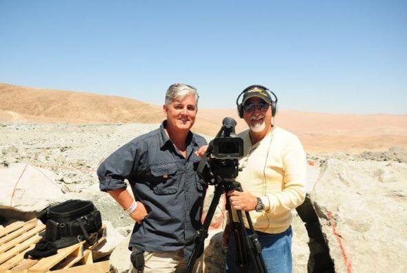 N uestro corresponsal Ricardo Arambarri comenzó a trabajar en Pri...