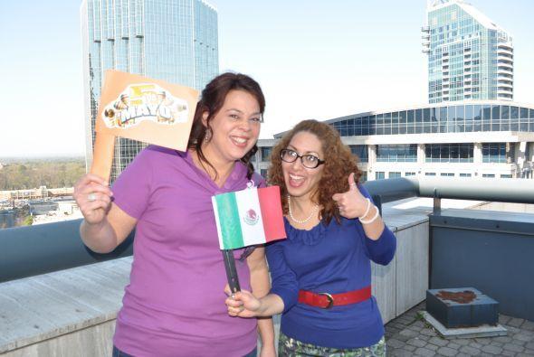 El Cinco de Mayo se celebra por todo lo alto en la oficina de Univision...