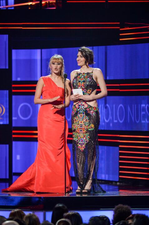 El duo de chicas Ha*Ash presentó los nominados a la categoria Regional M...