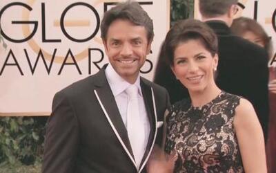 Eugenio Derbéz y Alessandra Rosaldo se lucieron en la alfombra roja de l...