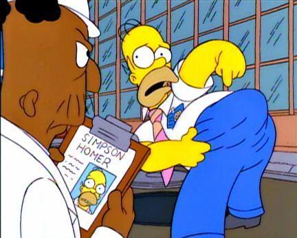 Hasta al pobre de Homero Simpson le tocó. Mira aquí los vi...