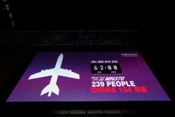 La mayoría de los pasajeros eran chinos (153) y malasios (50), au...