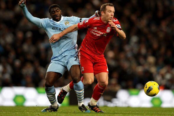 El Liverpool no veía el modo de reaccionar ante el marcador adverso.