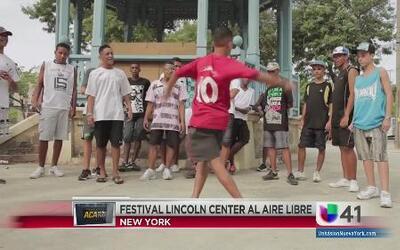 Festival Lincoln Center al aire libre