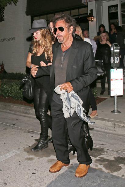 El actor de películas como 'Scarface' y El Padrino, parece que no supo h...