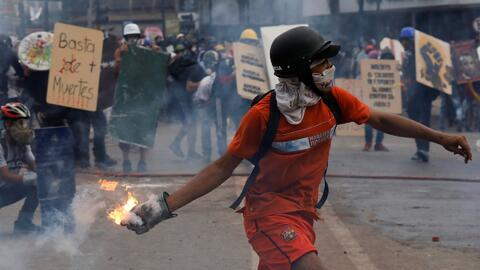 La violencia sigue recrudeciéndose en Venezuela con la muerte de un jove...