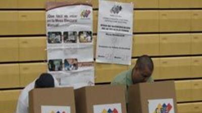 El proceso fue rápido y organizado, de acuerdo a electores.