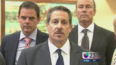 Con licencia restringida hasta septiembre el comisionado Díaz