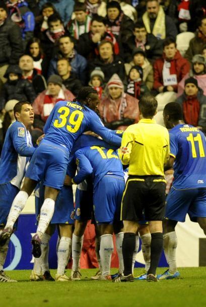 Rapidamente Espanyol volvió a golpea y con un tanto de Vladimir W...