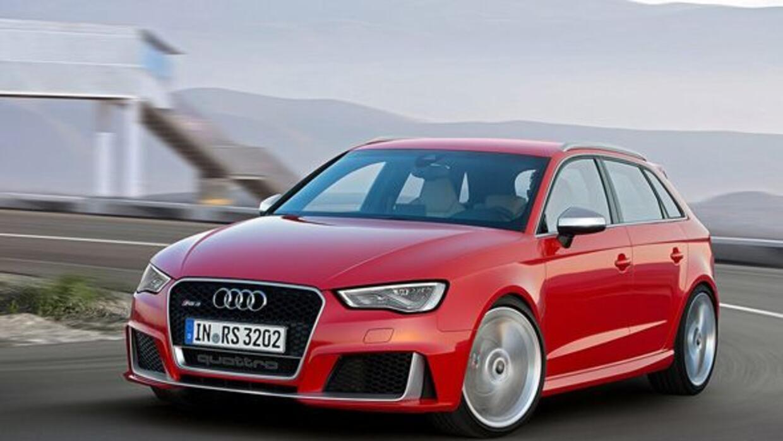 El nuevo RS3 se une a la amplia gama de deportivos RS de Audi.