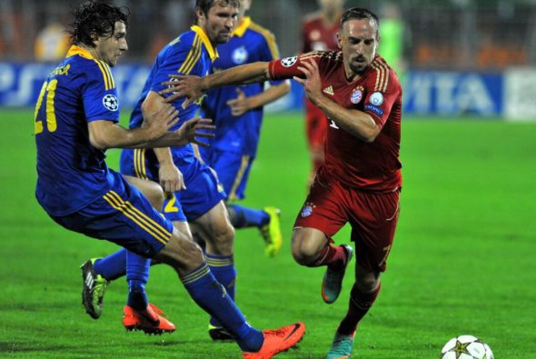 la gran sorpresa de la jornada se dio en casa del BATE Borisov, que derr...