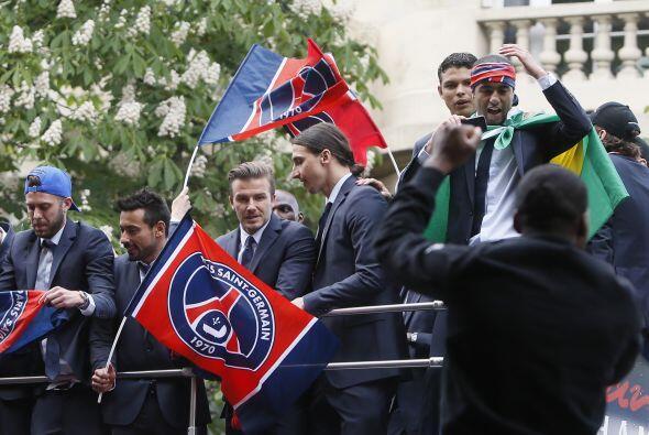 El París Saint Germain se proclamó campeón de la Liga 1 de Francia, para...