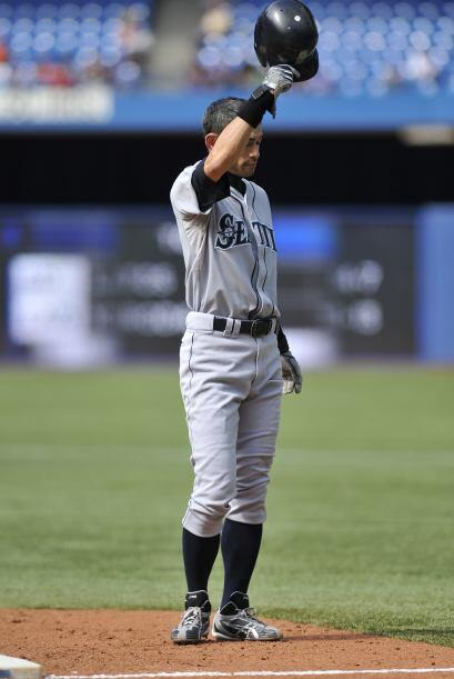 Ichiro es un símbolo de la pelota japonesa, de las grandes ligas y espec...