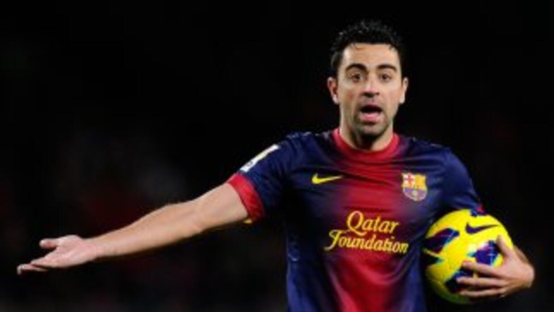 Xavi se perderá el amistoso entre España y Uruguay por molestias enlos...