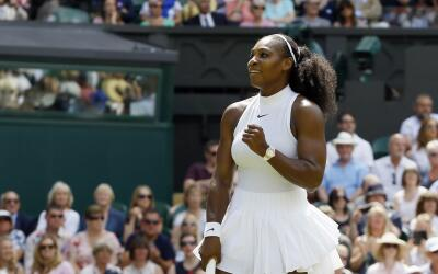 Serena Williams avanzó a final de Wimbledon