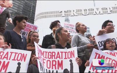 Marcha por mejores condiciones y reforma migratoria justa