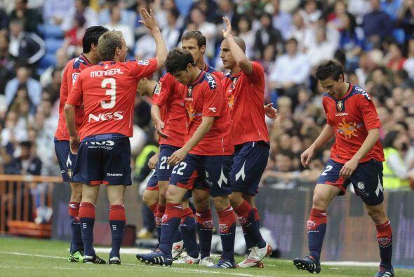 El Osasuna no se intimidó por el rival y le marcó a los madridistas en d...
