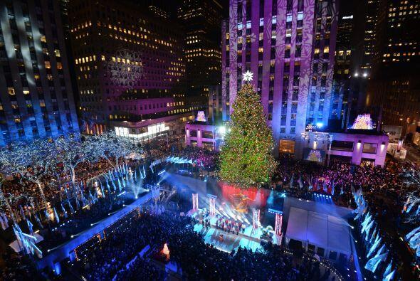 Su brillo navideño será visto por miles de neoyorkinos y v...
