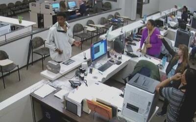 Un hombre atacó a funcionarias de una corte penal en el centro de Houston