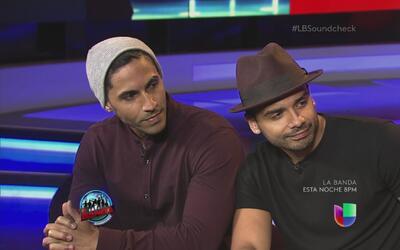 El dúo Favela aconseja a los participantes de La Banda
