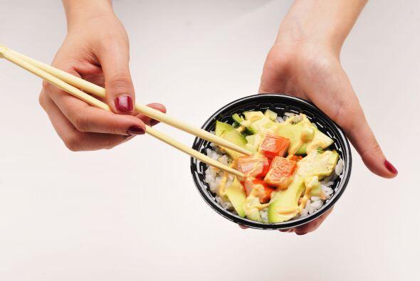Sobre el mismo arroz para sushi puedes intentar un guisado de cubos de a...