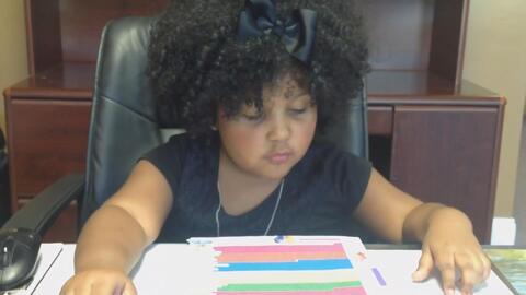 Con tan solo cuatro años esta niña leyó más de 1,000 libros