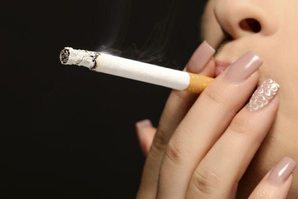 Hay investigaciones que han vinculado el consumo de cigarrillos con un m...