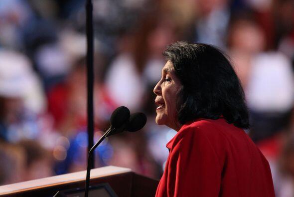 Hoy, pese a su edad, Dolores Huerta continúa con su trabajo en Californi...