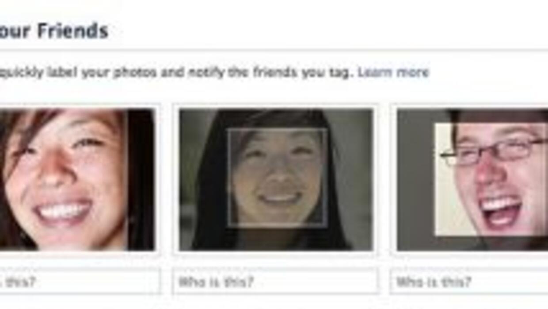 Los rostros en Facebook son reconocidos automáticamete. (Foto: Facebook)