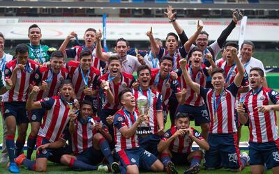 Guadalajara campeón Sub 20; se impuso a su archirrival América en la final