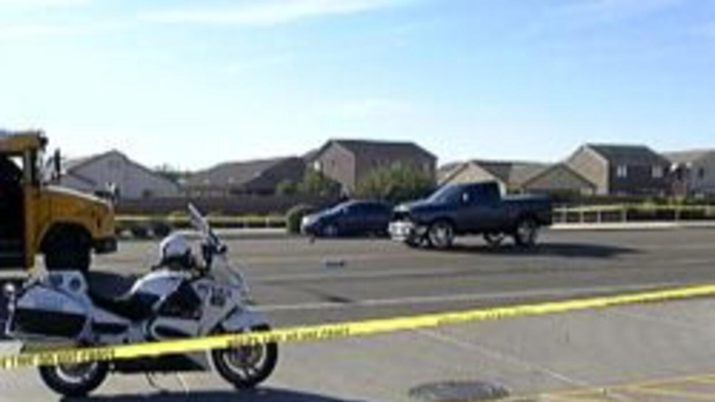 Policia de Phoenix en medio de la investigacion