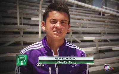 La historia de Felipe Cardona y su sueño MLS